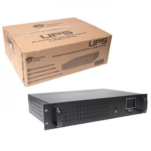 UPS0850 | Powercool Rack-Mount Off-Line UPS 850VA with LCD & USB Monitoring with 1x8Ah