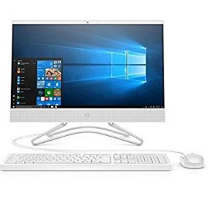 HP 19.5-Inch All-in-One Desktop PC – (White) (AMD E-Series E2-9000 Processor, 4 GB RAM, 1 TB HDD, AMD Radeon R2 Graphics, Windows 10 Home)